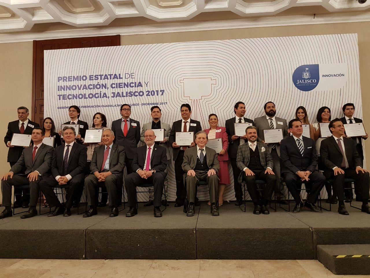 Ganadores del Premio Estatal de Innovación, Ciencia y Tecnología 2017